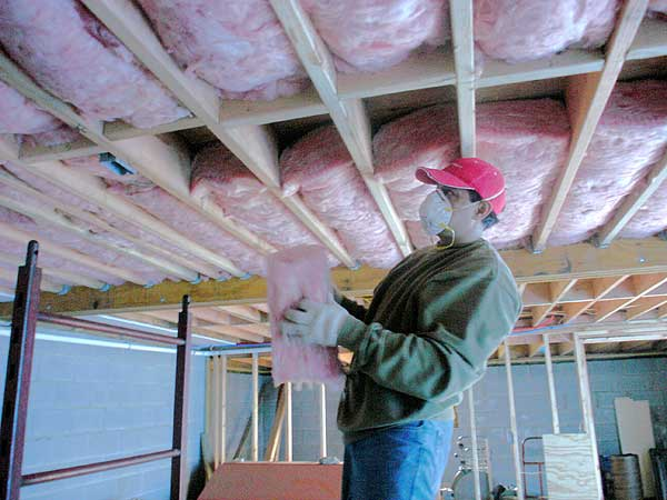 Garage Ceiling Insulation